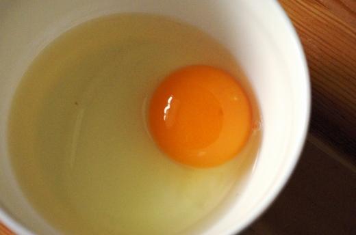 中国青島の大地農場の卵