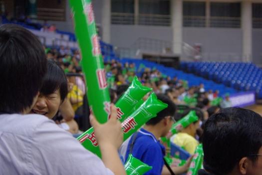 青島ビールチーム応援団