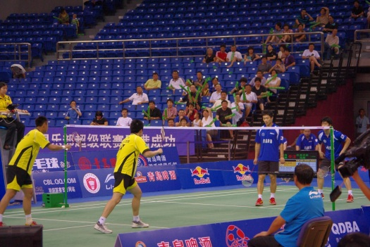中国ではバドミントンが一番人気のスポーツ