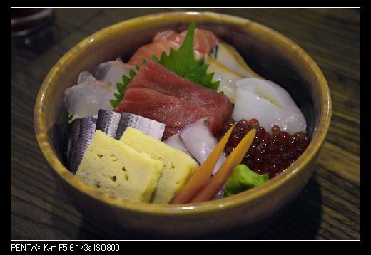 玉海力さんの「海鮮丼」