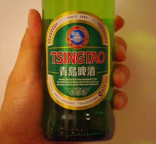 青島ビールのラベル