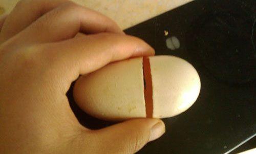バカバカしい偽物卵(青島)
