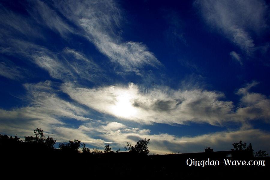 Qingdao's sunrize