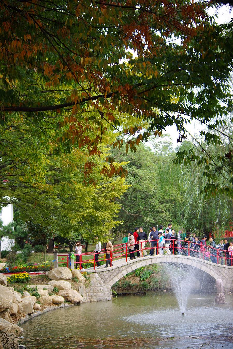 もうすぐ秋色。青島の中山公園。