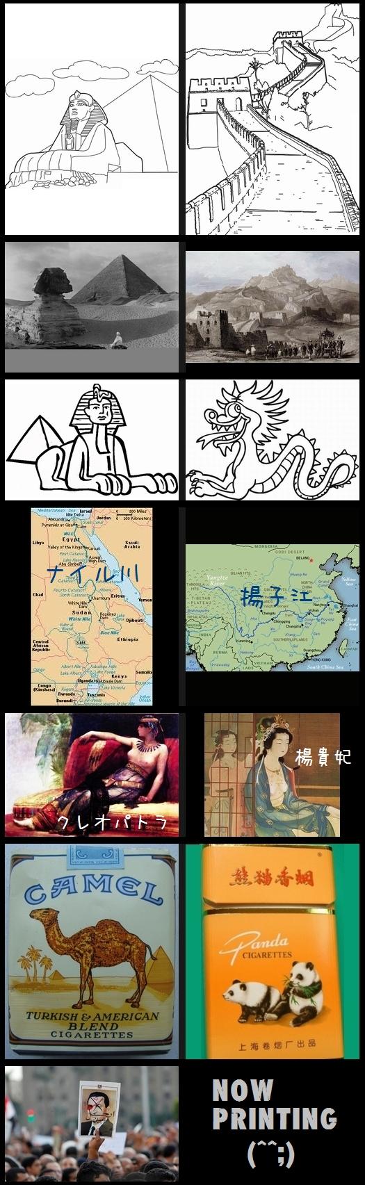エジプトをとても気にしている中国