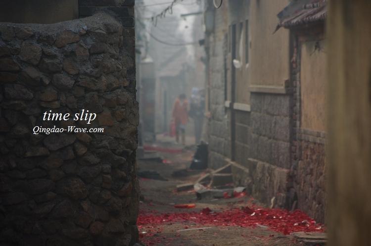 遠い昔の青島の姿が残る「板橋坊村」