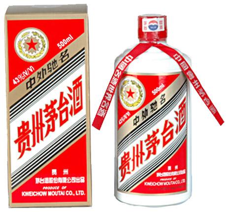 中国の白酒の有名ブランド「茅台」MOUTAI