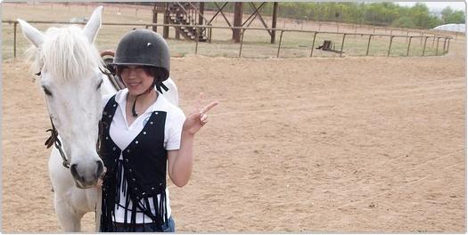 乗馬に行ってきました。