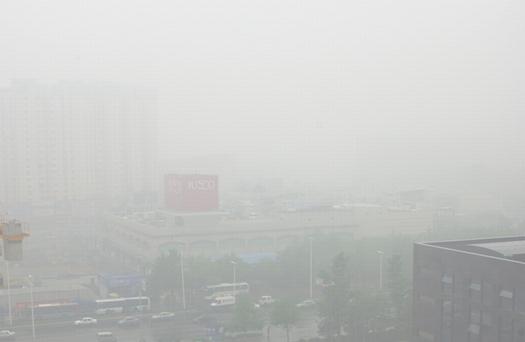 6月の青島は霧だらけ