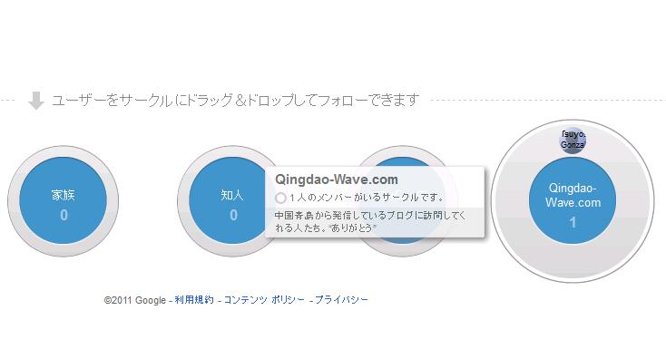 Google+ でサークルを作成