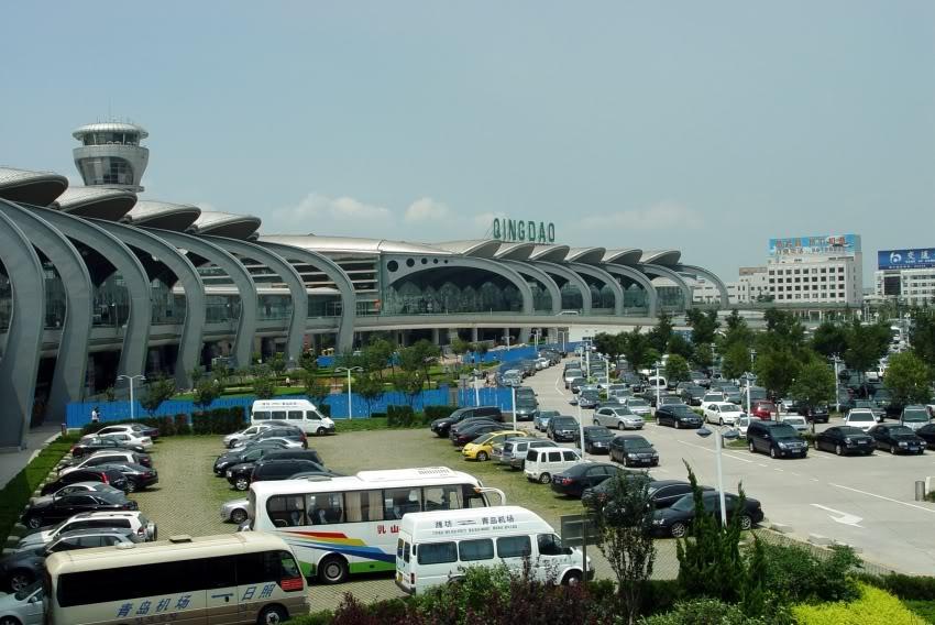 現在の青島国際空港