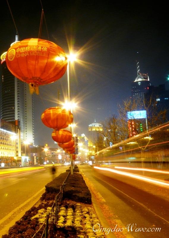 もうすぐ春節 香港中路